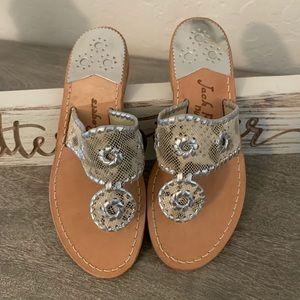 NWOT- Jack Rogers Navajo Sandals